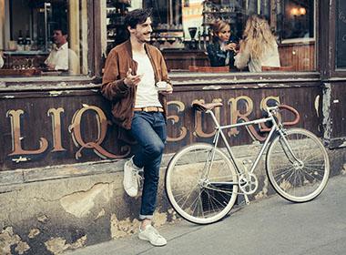 Vélos homme Creme